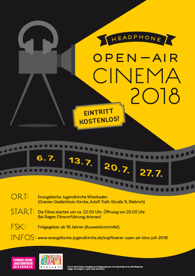 Headphone-Open-Air-Kino 2018 Poster
